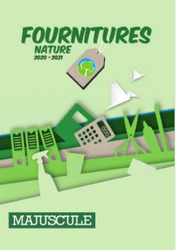 Catalogue vert 2020